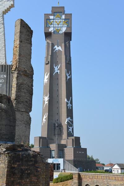 The Yser tower in Diksmuide.