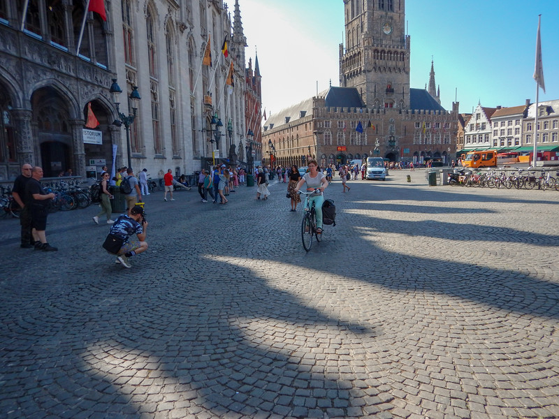 The main square, Brugges