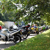 Broxton bike meet, Cheshire