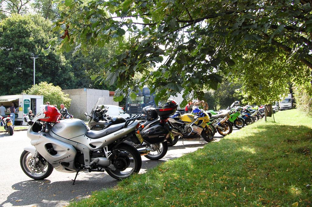 Broxton bike meet, Cheshire