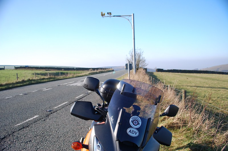 Speed camera on Cat & Fiddle