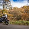 Honda Crosstourer in the Goyt Valley