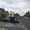 Outside the cafe in Hawes.