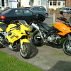 My Firestorm and the new KLV1000 together.