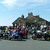 Cat and Fiddle pub car park on any Sunday