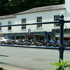 Bikes everywhere in Matlock on a Sunny Sunday.