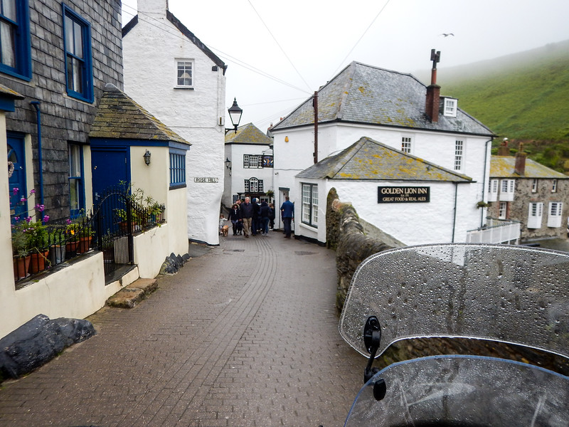 The tiny streets of Port Isaac