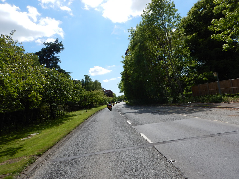 Approaching Melksham