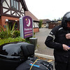 Packing up at the Premier Inn, Balsall Common