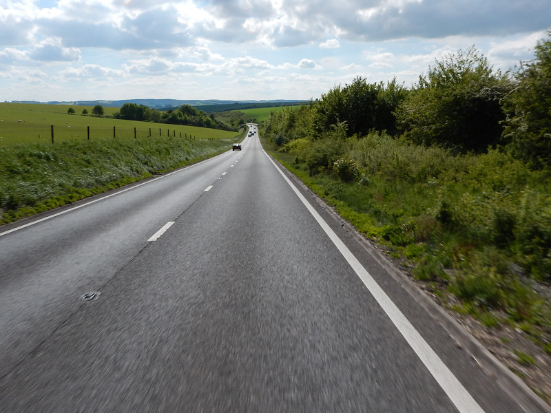 A303 on the way to Fisherton de la Mere