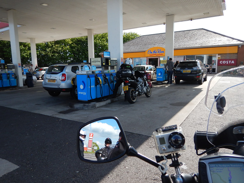 Another Fuel stop near West Knoyle