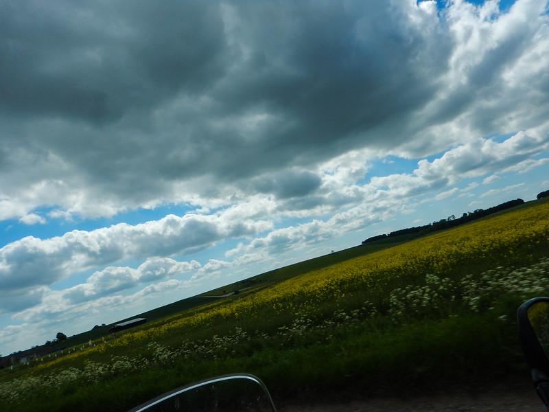 Salisbury Plain approaching Tilshead