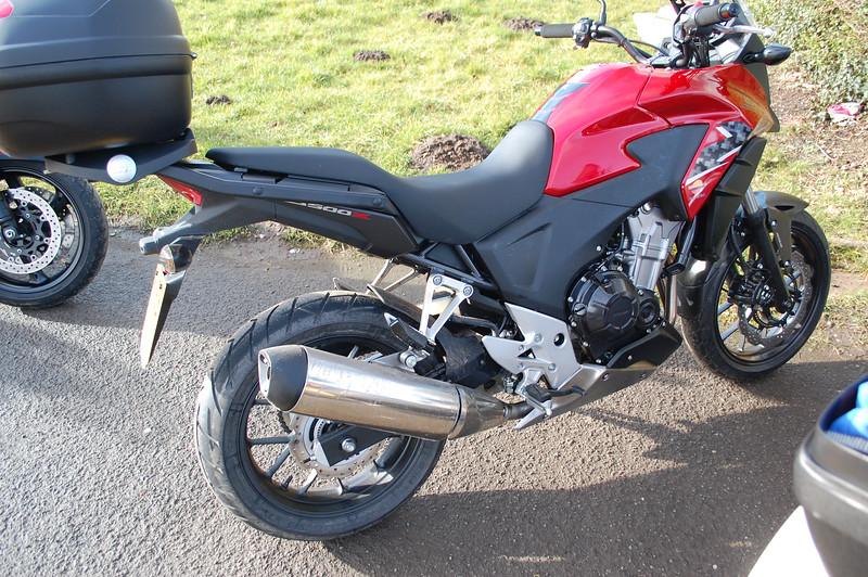 Honda CB500X Red 2014