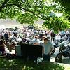 Big crowd at Rivington as usual