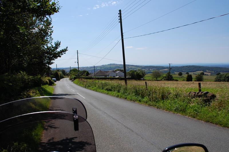 Mow Cop in the distance, from Biddulp Moor.