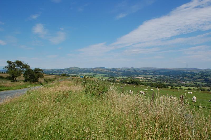 The view towards Buxton, Biddulph Moor
