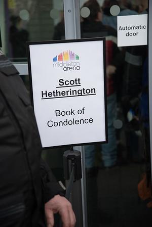 Scott Hetherington Book of Condolence