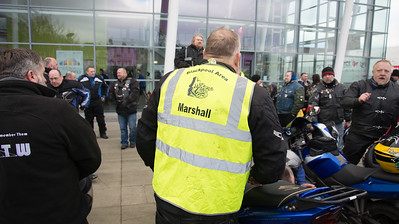 Motorcycle action group Blackpool area Marshall