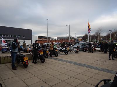 Motorcycles at Middleton Arena