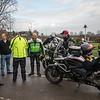Motorcycle meet at the Salt Box Cafe, Hatton, Derbyshire