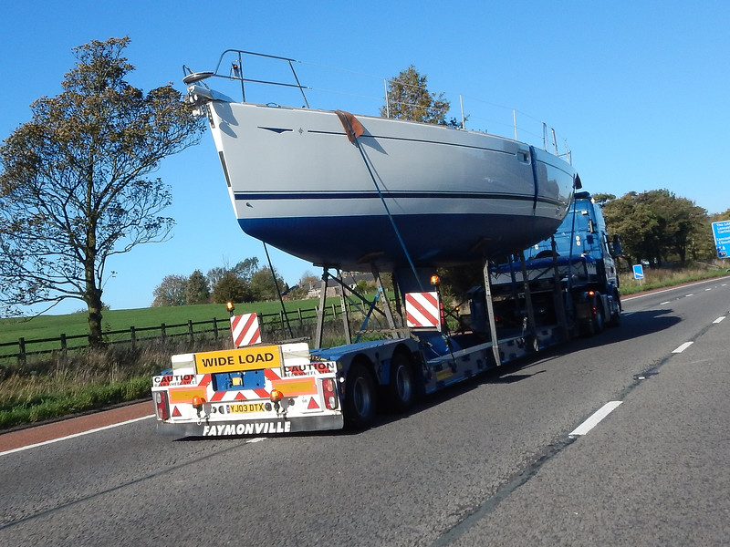 Big boat on the M6