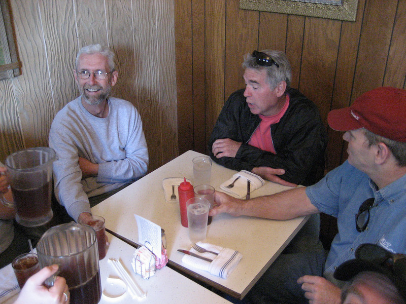 The people - Bob, Mark and Russell