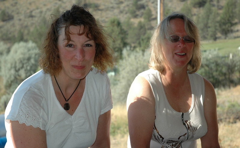 Tracy and Carin