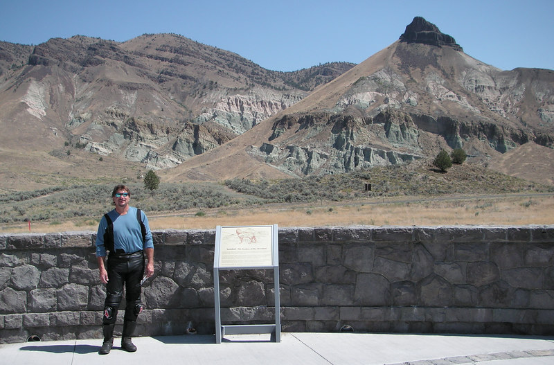 Rick at the John Day Fossil Beds