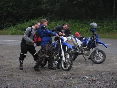 Ride near Tinkham 7-12-09
