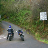 Next morning, on Hwy. 1 north of Fort Bragg. Let's take a look at Usal Road.