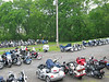 JMA bikes filled the Whitwell lots
