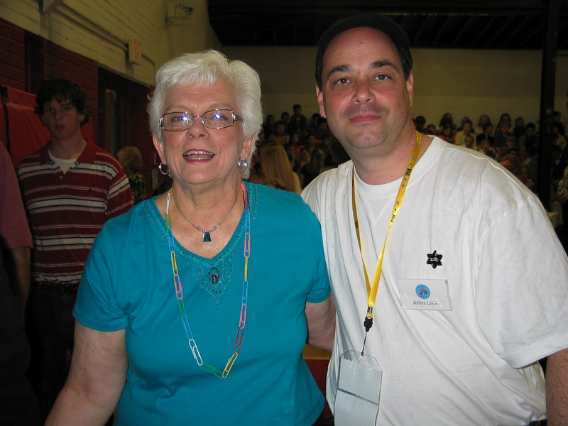 Whitwell School principal, Linda Hooper and Jeff
