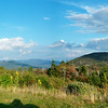 Panoramic view from one of the scenic stops on the Kanc.