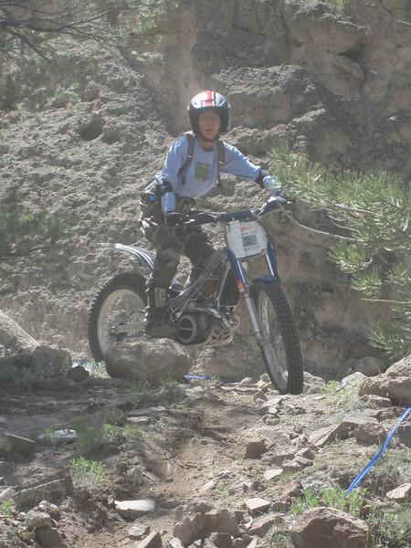 Turkey Rock Vinage Trials, May 31 2009 090