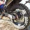 The grippy Mefo Super Explorer balanced out the so-so front Pirelli Scorpion.