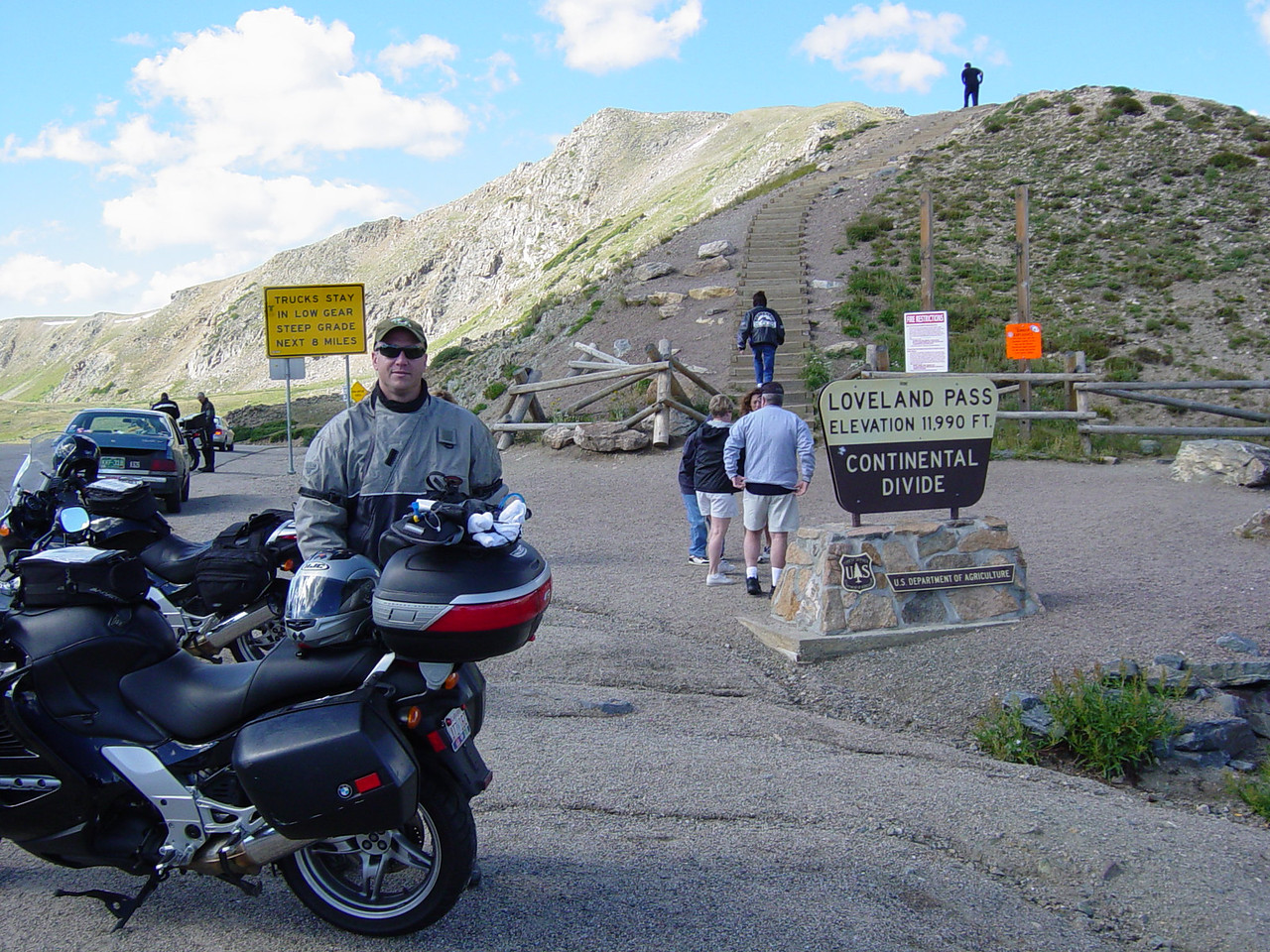 Dave Cooper at Loveland Pass.