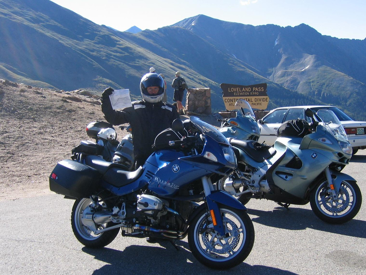 The second pass was Loveland Pass.
