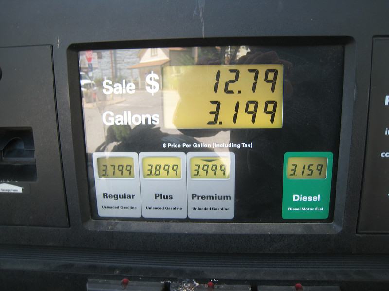 ... a fact of which the local gas retailer takes advantage.  $4.00 /gal for premium!