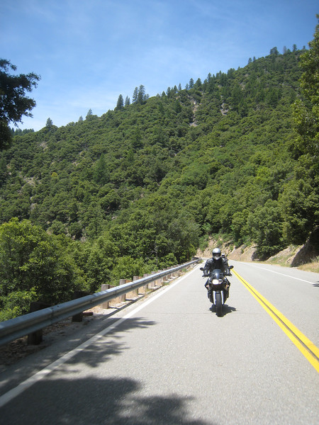 We enjoy a spirited ride through the forest and hills of northern California.