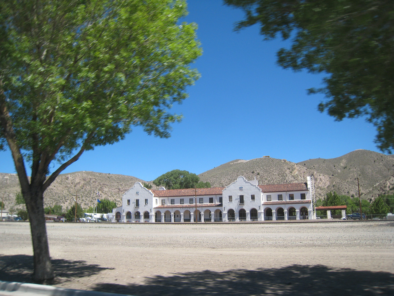 Caliente is a railroad town, and the old depot shows how important rail service used to be here.
