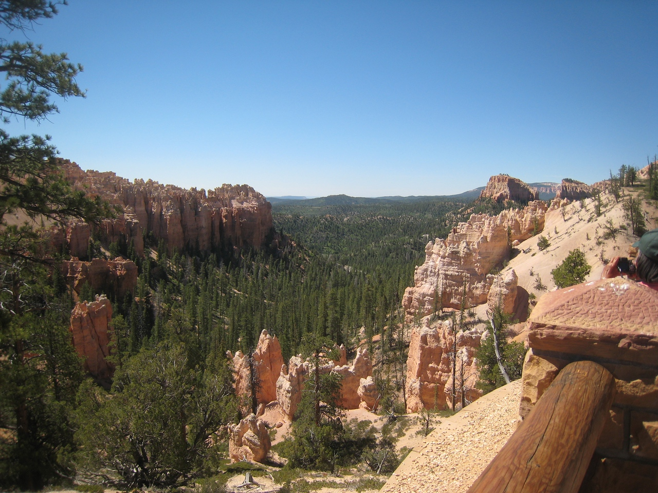 Bryce Canyon lives up to the hype.  Incredible scenery abounds.