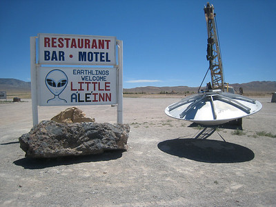 The well-known Little A'Le'Inn in Rachel, NV, near Area 51.