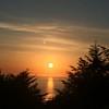 Fine sunset
