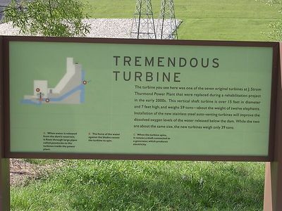 Strom Thurmond Lake Dam