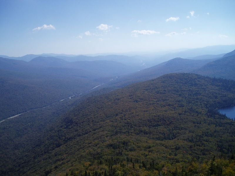 Franconia Notch (looking south down 93)