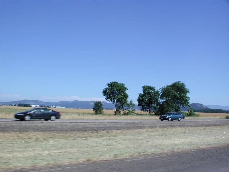 Scenic I-5 through central Oregon