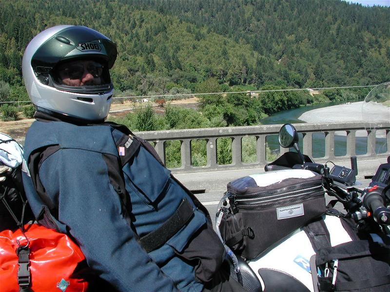 Kickin' back...not knowing what the next 100 miles will entail.