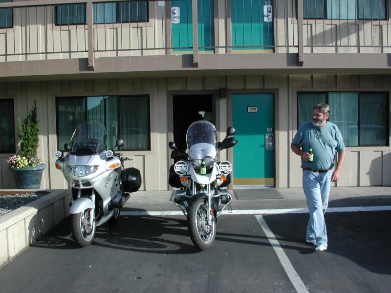 Eureka, CA - first stop.