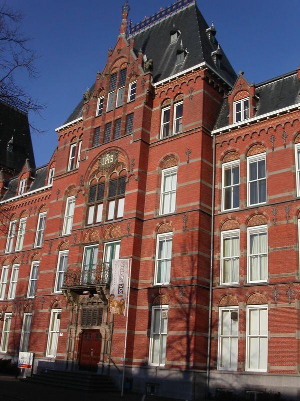 A pretty building in Nijmegen.