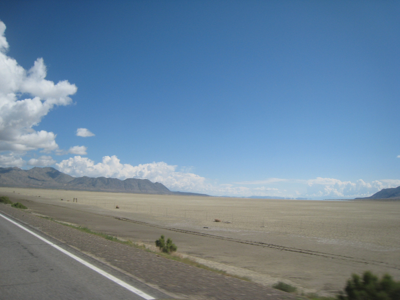 The Black Rock Desert.  Home to Burning Man and the World Land Speed Record.
